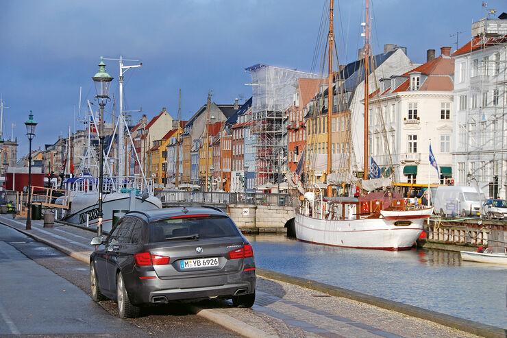 BMW M550d xDrive Touring, Kopenhagen