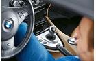BMW M6 Cabrio, Schalthebel
