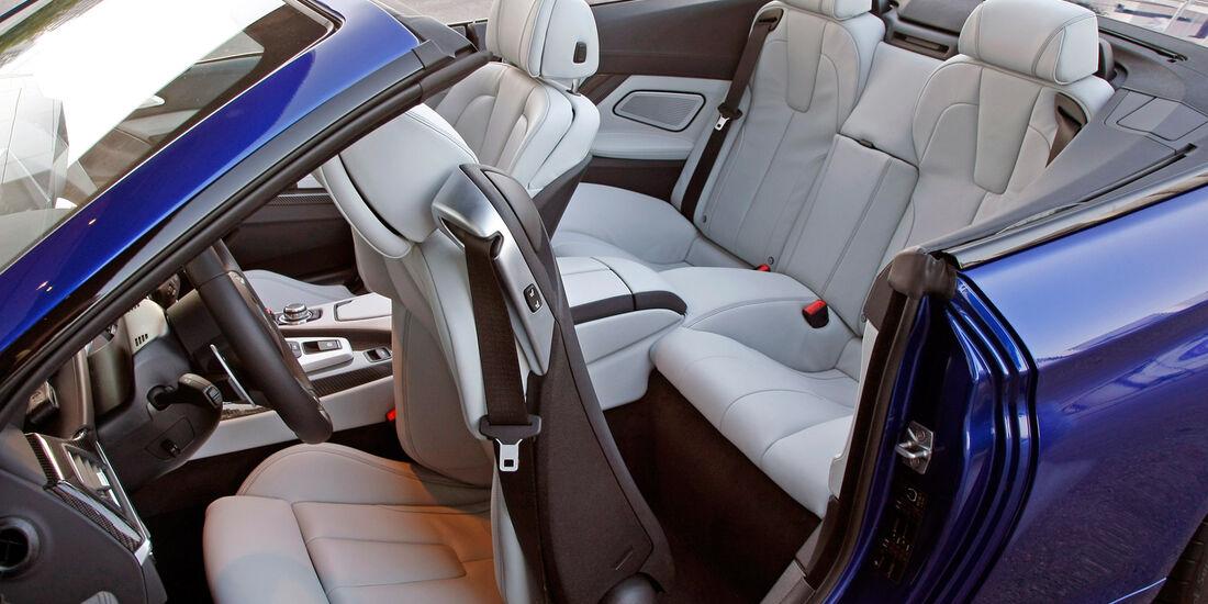 BMW M6 Cabrio, Sitze, Einstieg