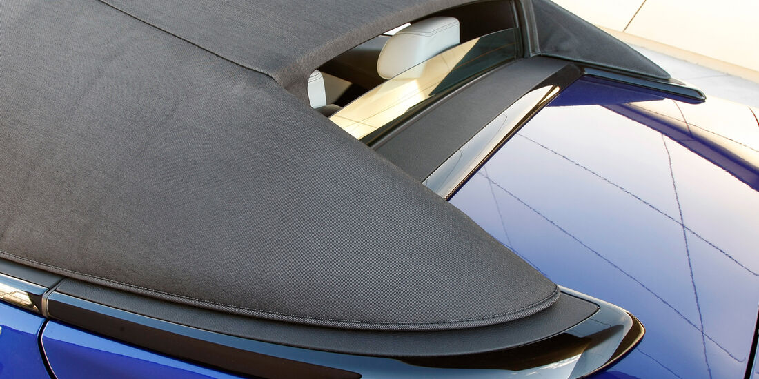 BMW M6 Cabrio, Verdeck