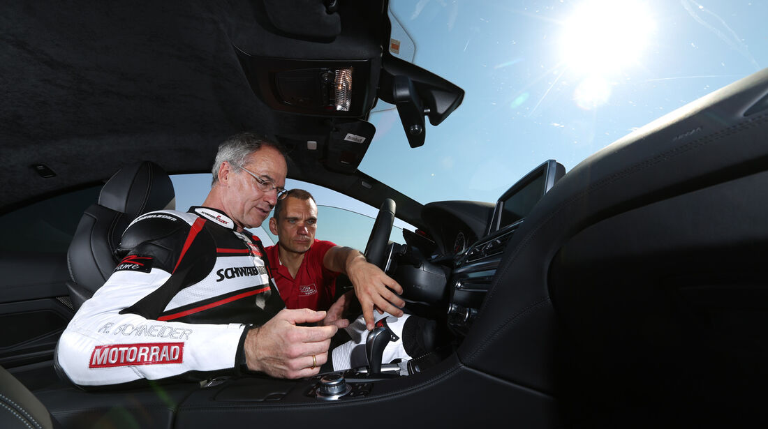 BMW M6, Cockpit