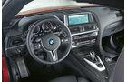 BMW M6 Coupé, Cockpit, Lenkrad