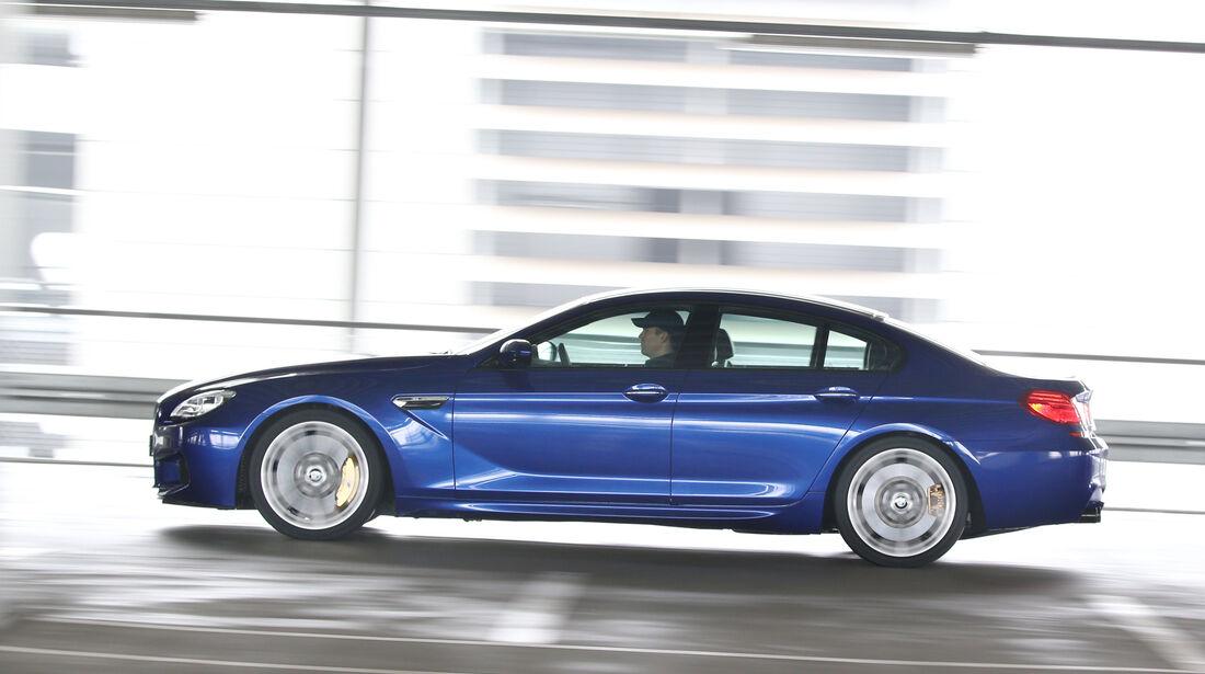 BMW M6 Gran Coupé Competition, Seitenansicht