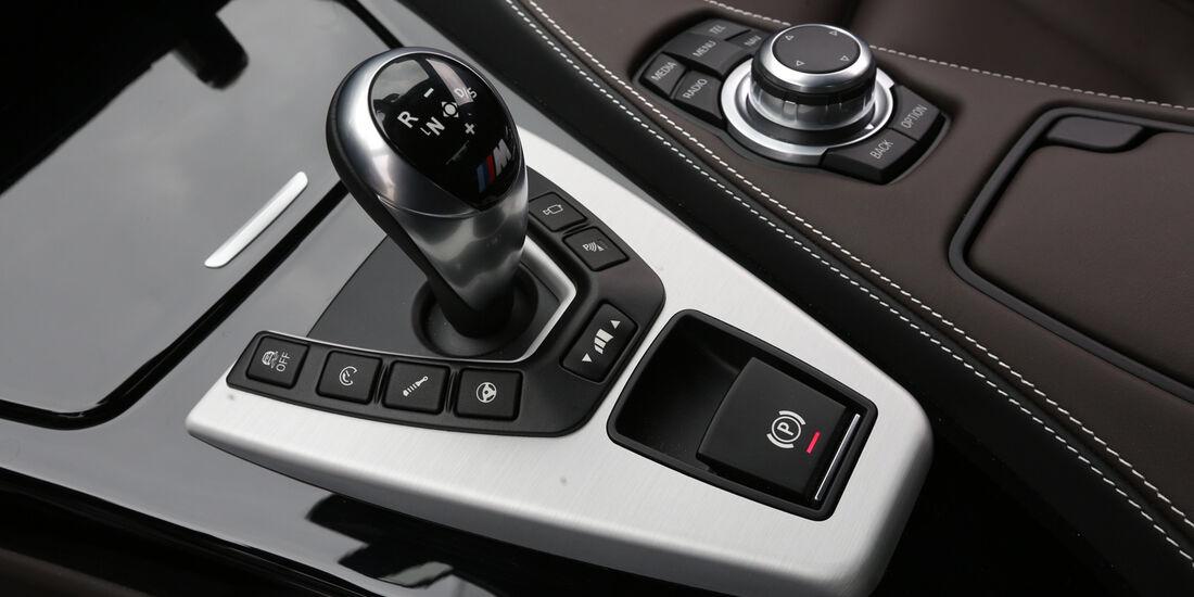 BMW M6 Gran Coupé, Schalthebel, Schaltknauf