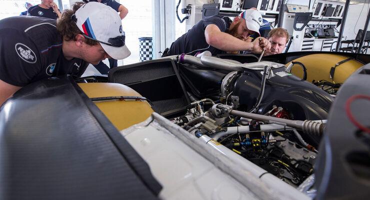 BMW M8 GTE - Motor - V8-Biturbo - Entwicklung