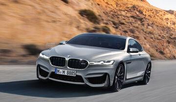 BMW M8 - Retusche - Schulte