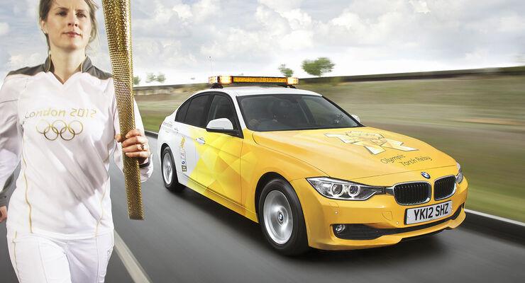 BMW Olympische Spiele London 2012 Flotte