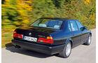 BMW Siebener, Heckansicht