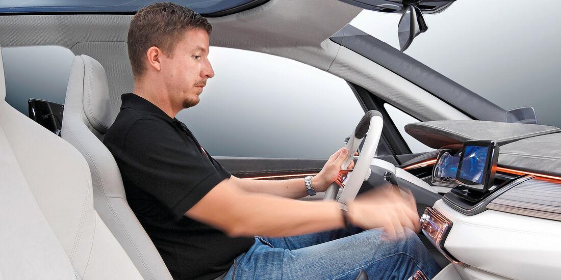 BMW Van, Cockpit