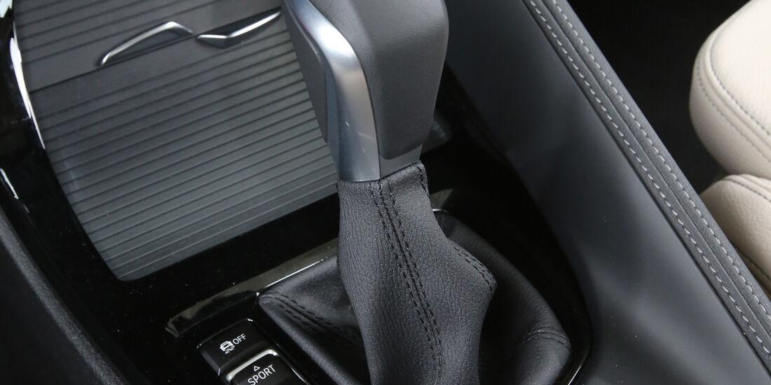BMW X1 20d xDrive, Schalthebel