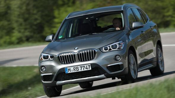 BMW X1 20i xDrive, Frontansicht