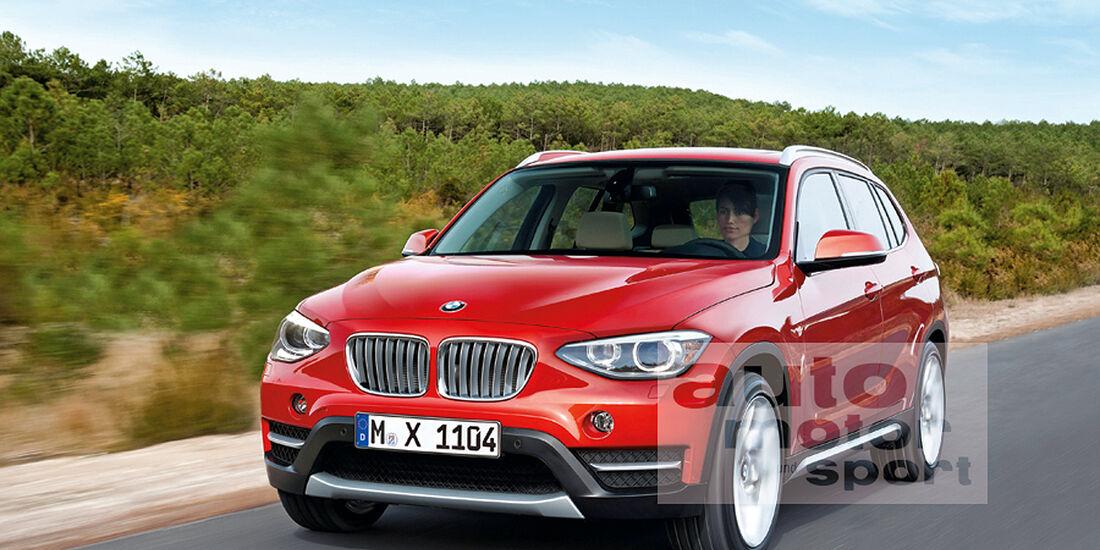 BMW X1, Retusche