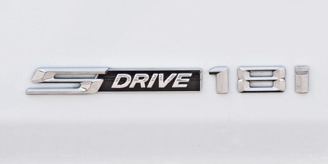 BMW X1 s-Drive 18i, Modellbezeichnung