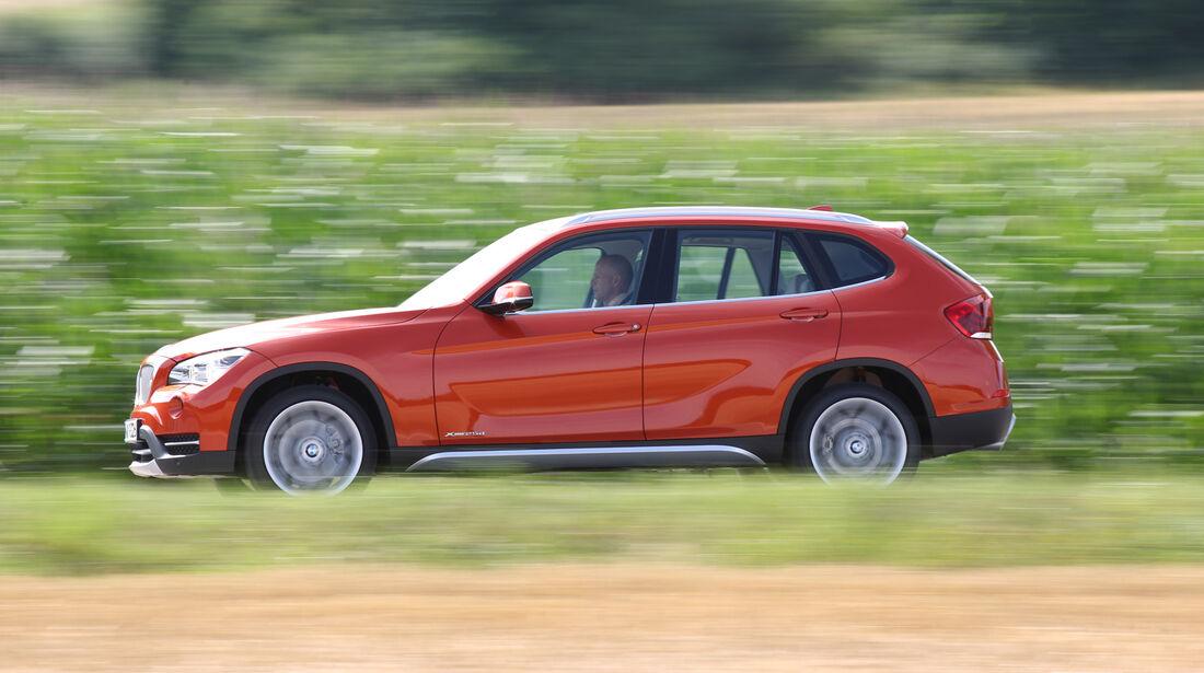 BMW X1 x-Drive 25d, Seitenansicht