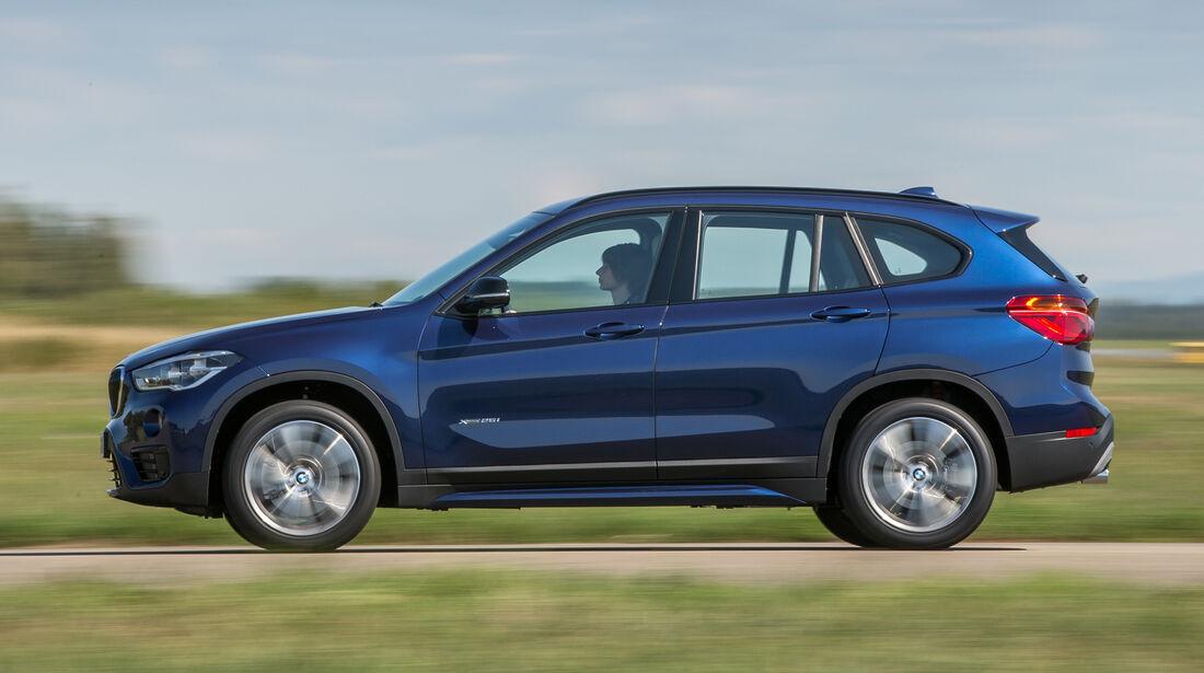 BMW X1 xDrive 25i, Seitenansicht