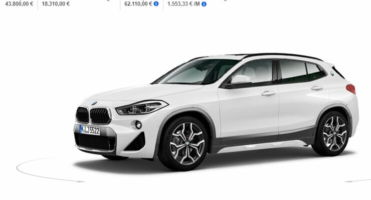 bmw x2 2018 test marktstart preis auto motor und sport. Black Bedroom Furniture Sets. Home Design Ideas