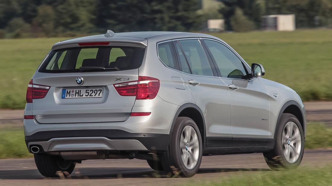 BMW X3 20d xDRIVE, Heckansicht