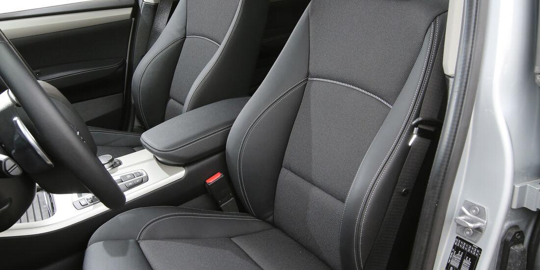 BMW X3 20d xDrive, Fahrersitz
