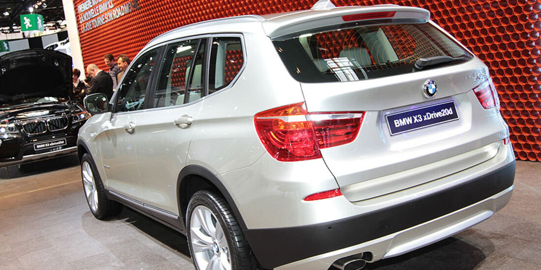 BMW X3 Paris 2010