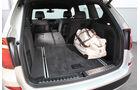 BMW X3 x-Drive 30d, Kofferraum, Sitz umgeklappt