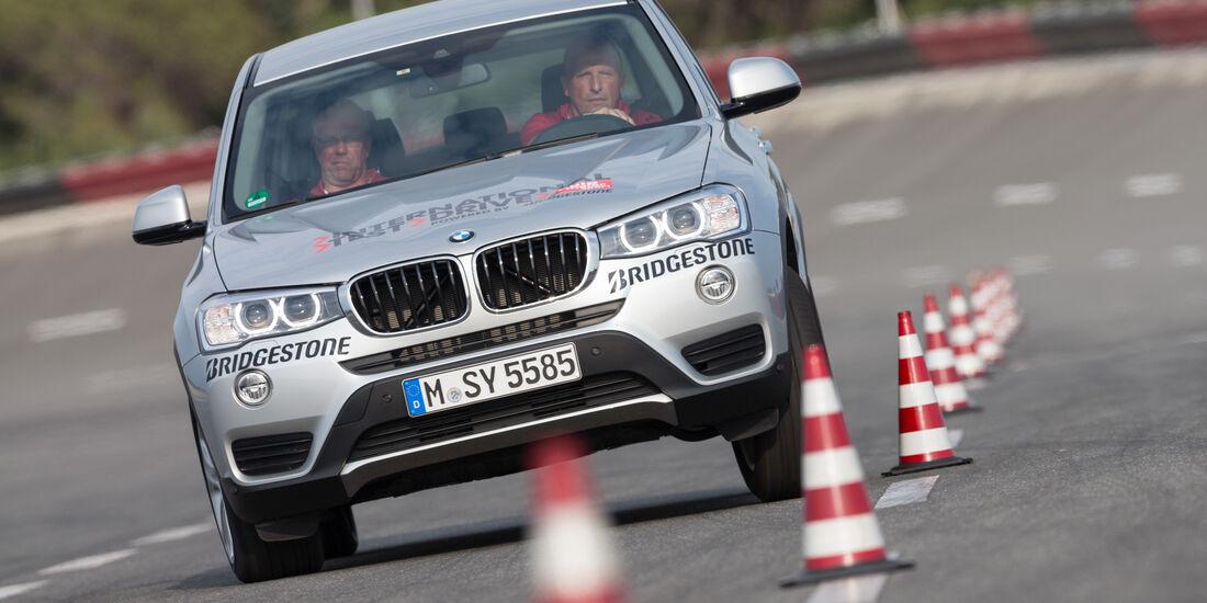BMW X3 xDrive 20d, Heckansicht