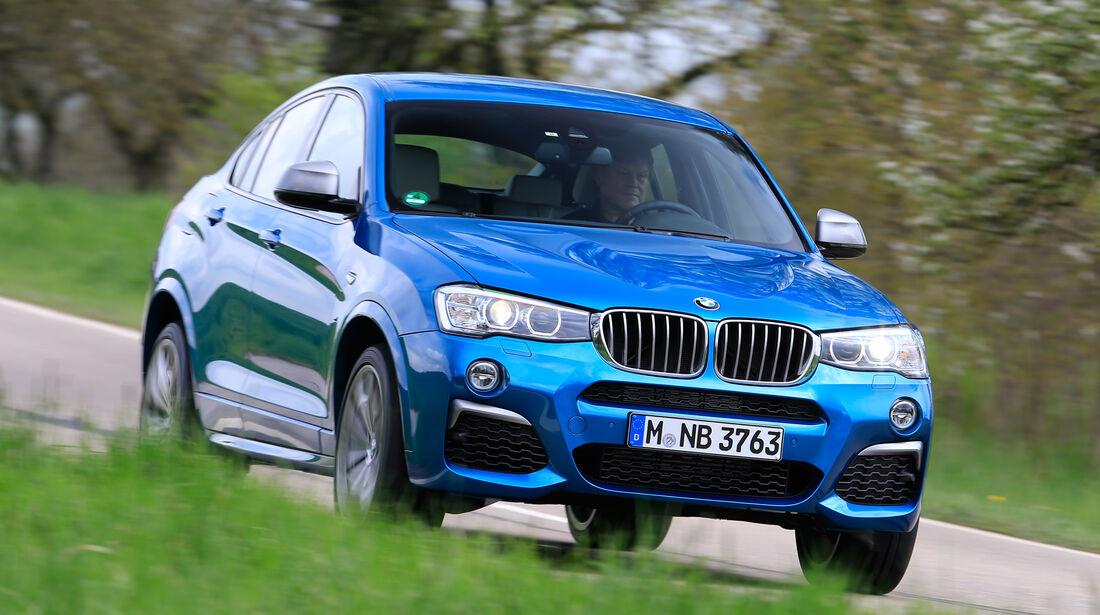 BMW X4 M40i, Frontansicht