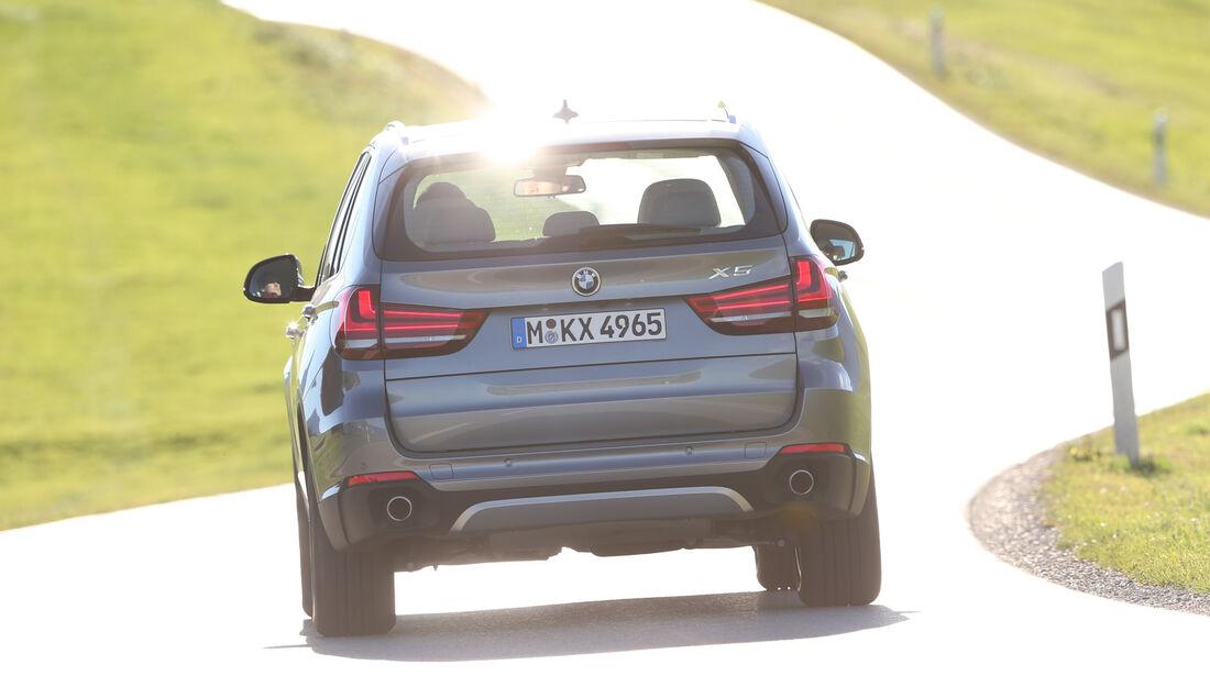 BMW X5 30d, Heckansicht