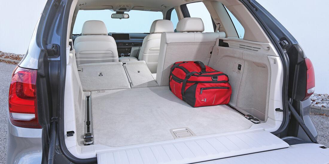 BMW X5 30d, Ladefläche
