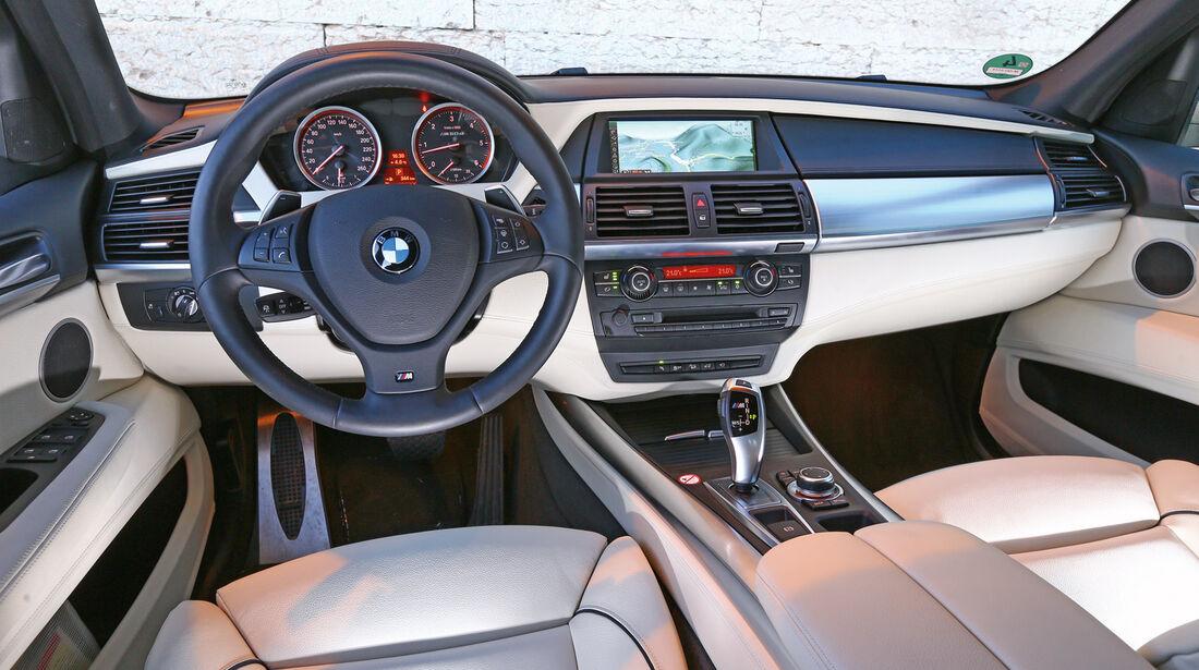 BMW X5 M50d, Cockpit, Lenkrad
