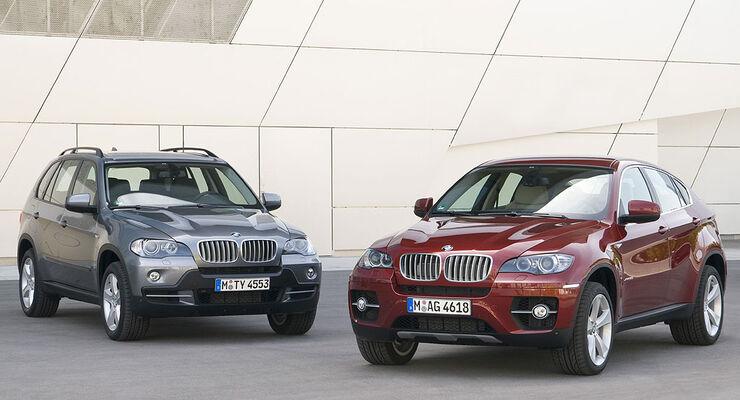 BMW X5 und BMW X6