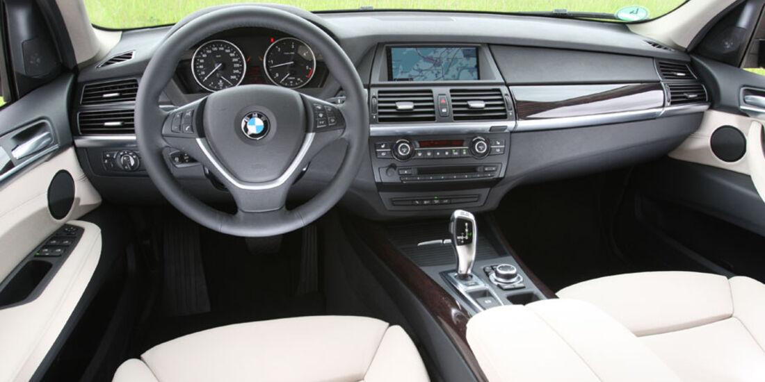 BMW X5 x-Drive 30d, Cockpit