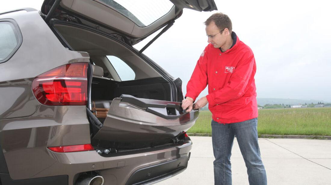 BMW X5 x-Drive 30d, Heckklappe