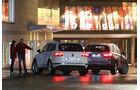 BMW X5 xDRIVE 3.0d, VW Touareg V6 TDI, Heckansicht