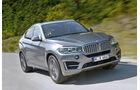 BMW X6, Frontansicht