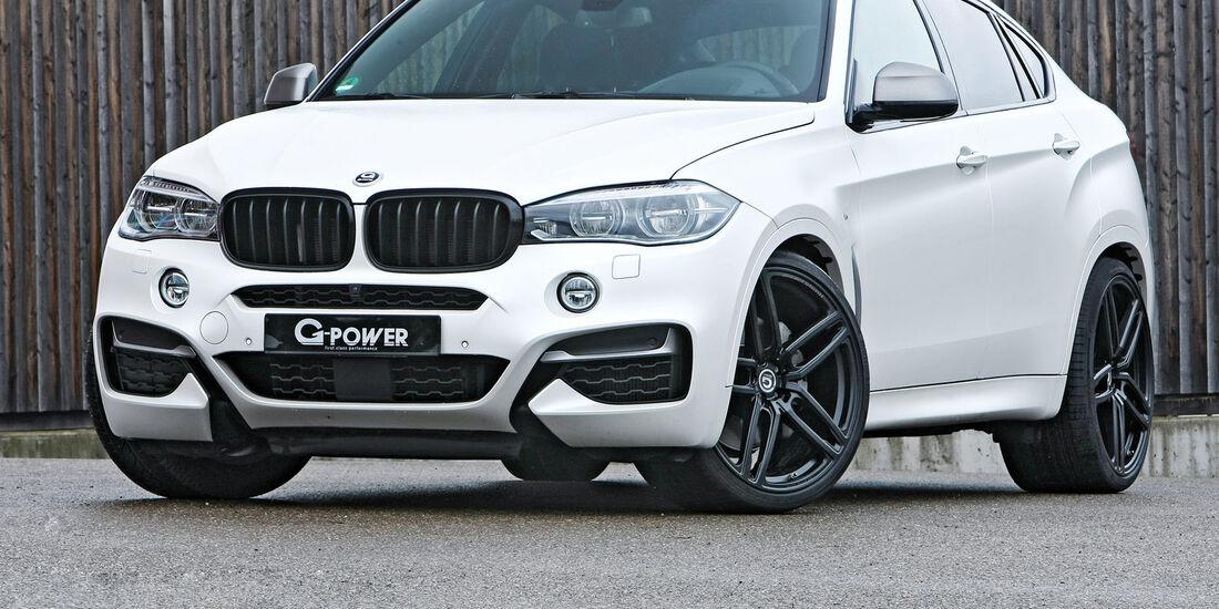 BMW X6 M50d von G-Power
