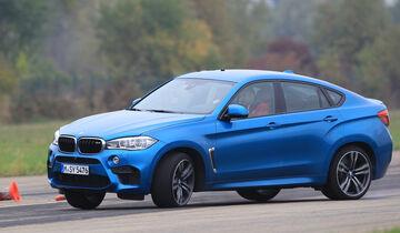 BMW X6M, Seitenansicht