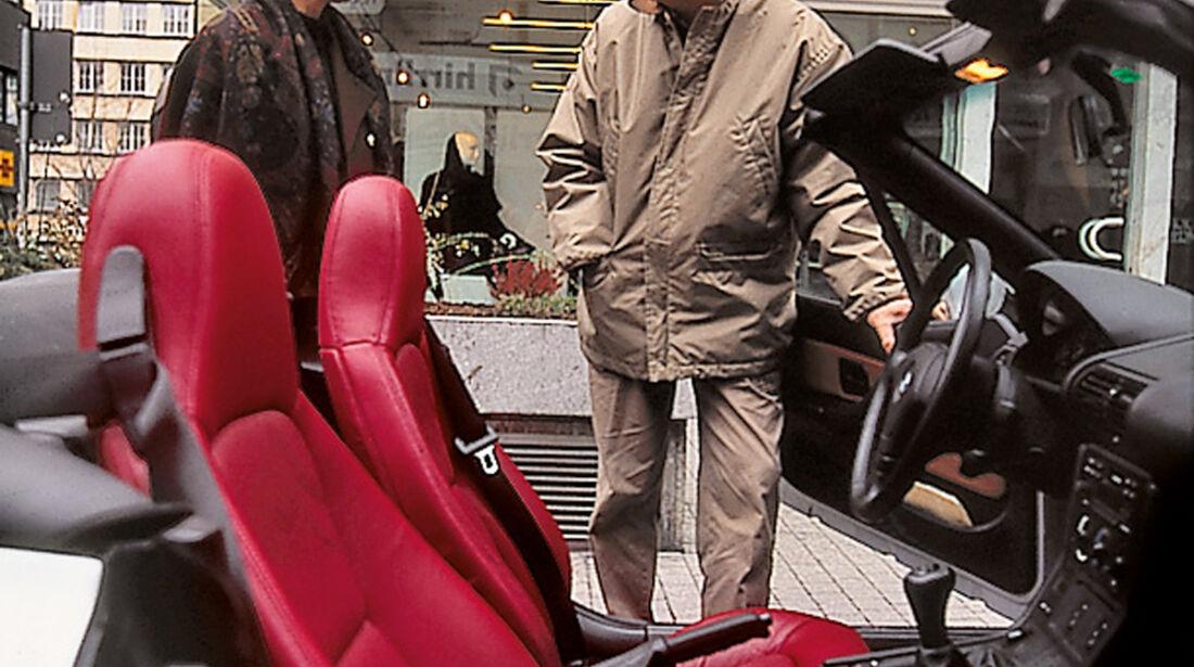 BMW Z3, Sitze