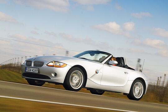 BMW Z4 3.0i, Seitenansicht