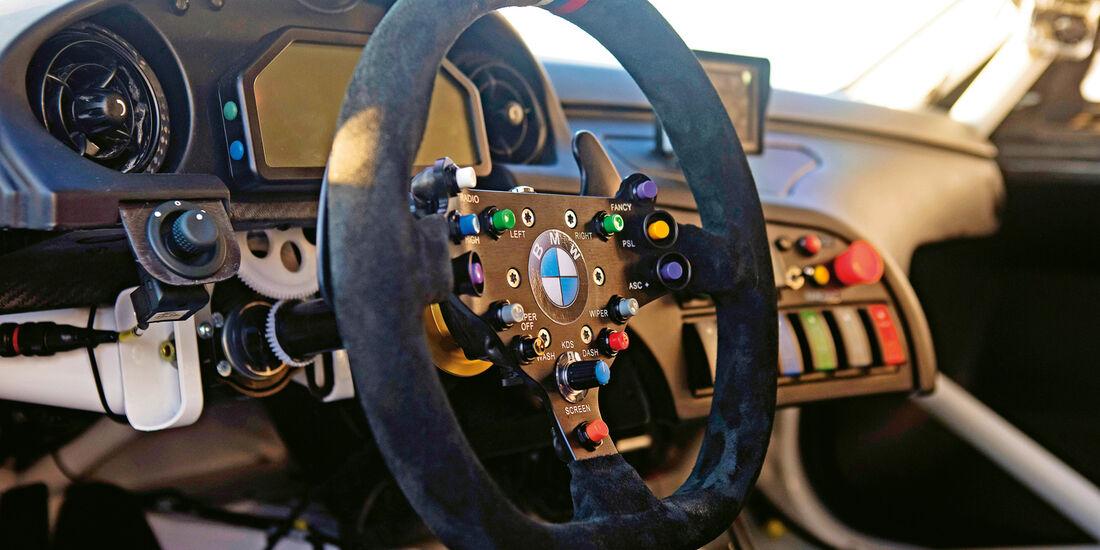 BMW Z4 GTE, Cockpit, Lenkrad