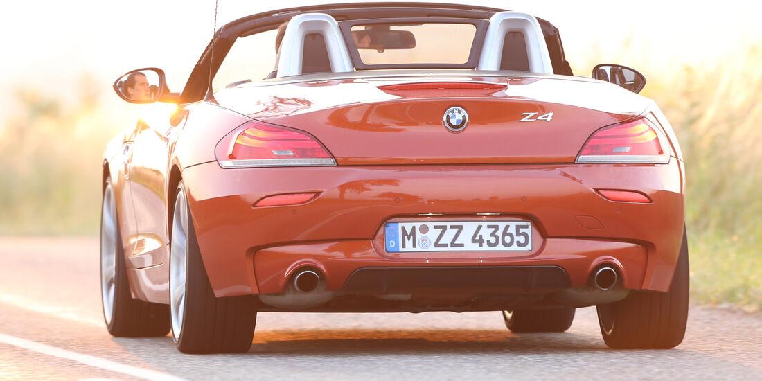 BMW Z4 s-Drive 35i, Heckansicht