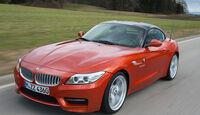 BMW Z4 s-Drive 35is, Frontansicht, Seitenlinie