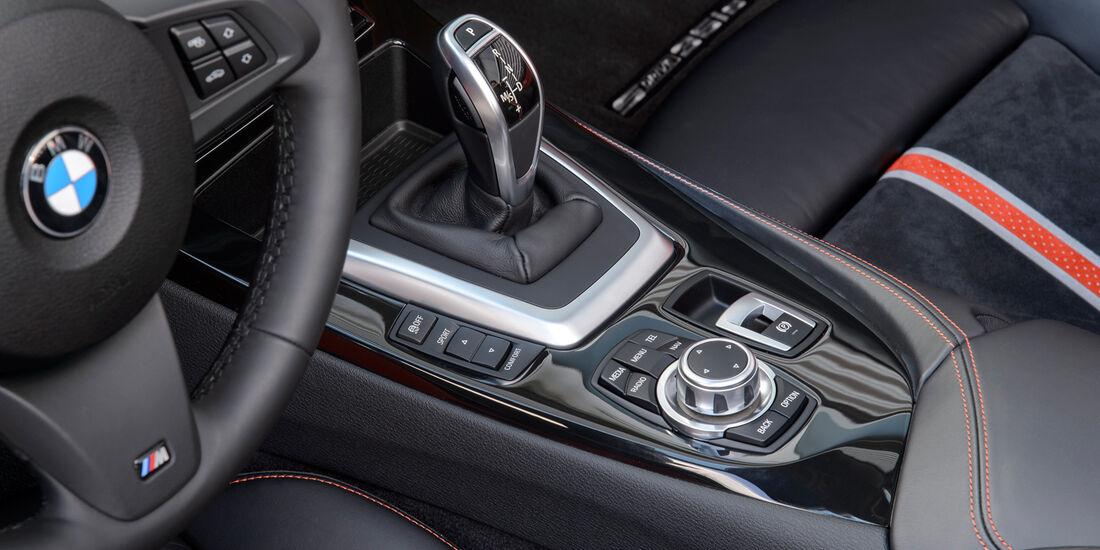 BMW Z4 s-Drive 35is, Schalthebel, Schaltknauf