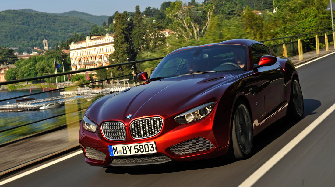 BMW Zagato Coupé, Frontansicht