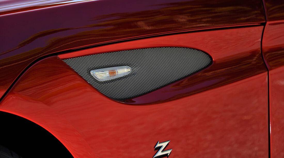 BMW Zagato Coupé, Seitenschlitz