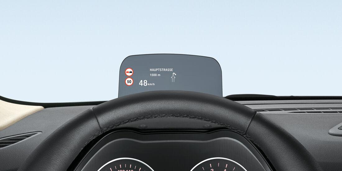 BMW Zweier Gran Tourer, Head-up Display