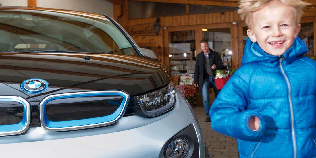 BMW i3, Kühlergrill, Niere, Sven