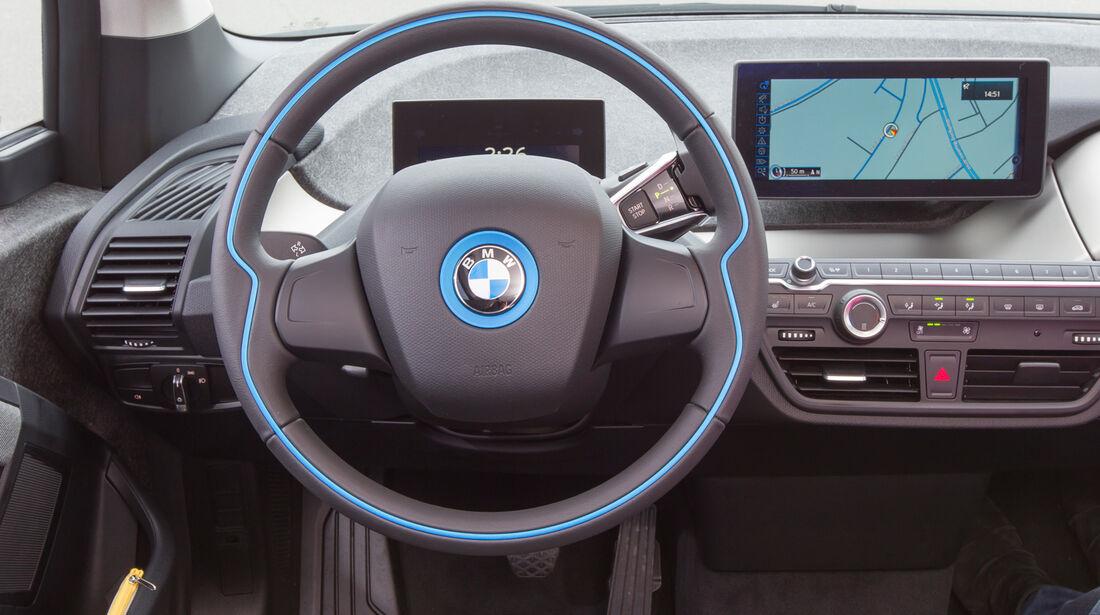 BMW i3, Lenkrad, Cockpit