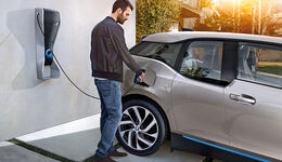 BMW i3, Wallbox, Ladevorgang