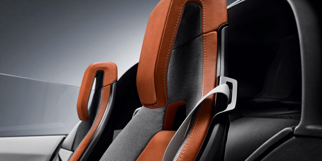 BMW i8 Concept Spyder, Kopfstützen