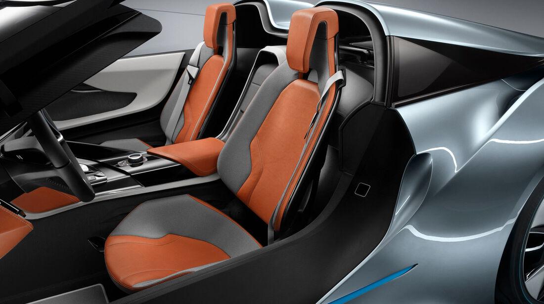 BMW i8 Concept Spyder, Sitze